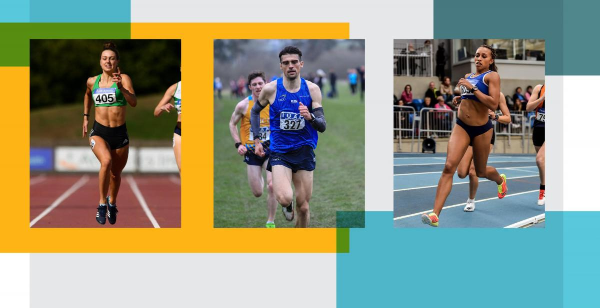 DCU Trio Selected for European Indoors