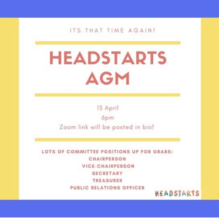 HeadstARTs AGM!