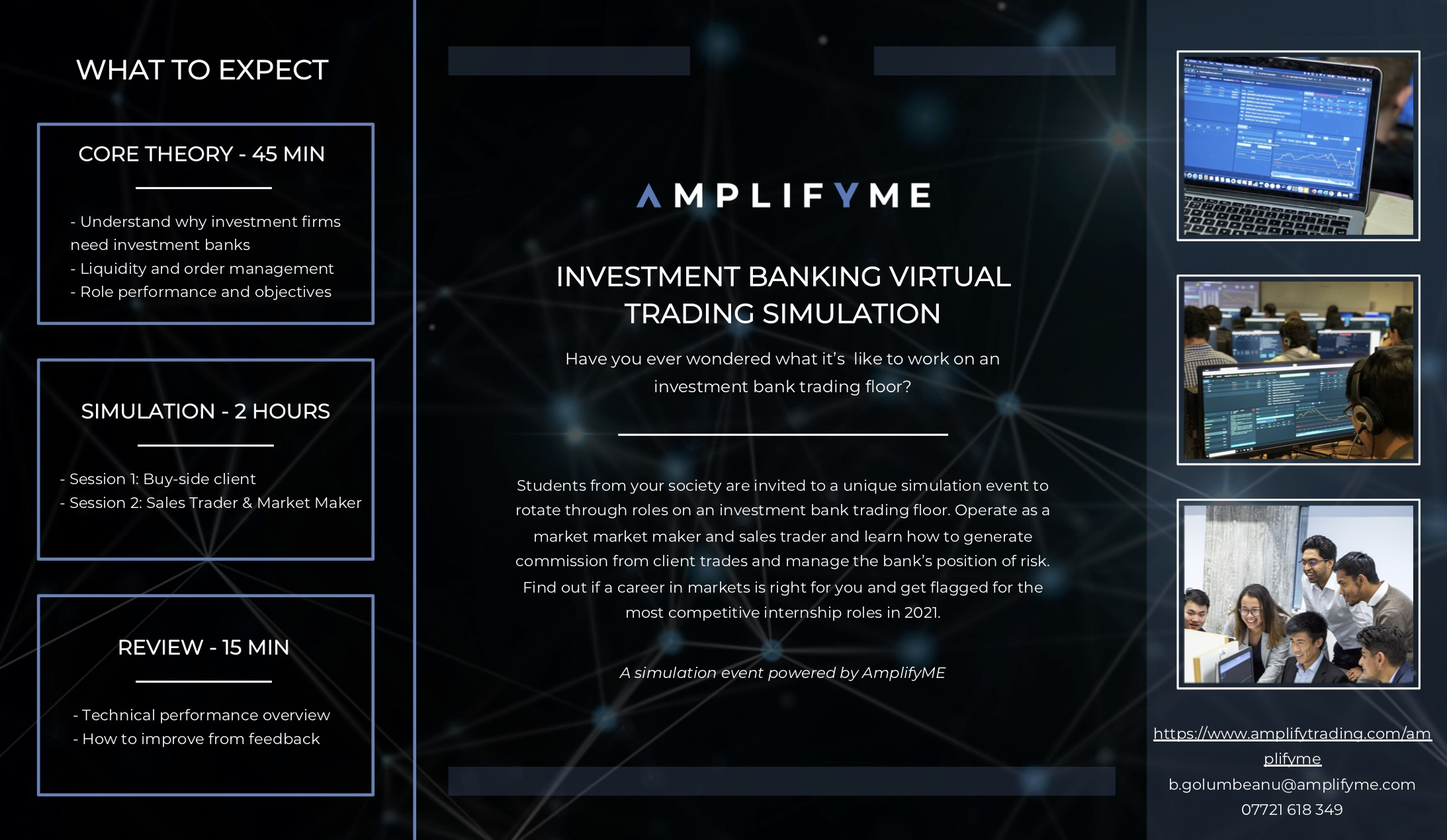 Amplify Trading Simulation