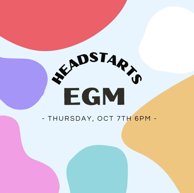 HeadstARTs EGM